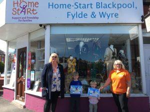 Teddy & Barnaby choose HSBFW as their charity